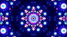 Blue Energy Kaleidoscope Animation