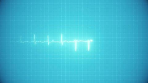 Animation Heart Electrocardiogram HD Animation