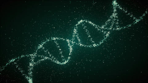 DNA Strand 3-in Pack Looped HD Animation