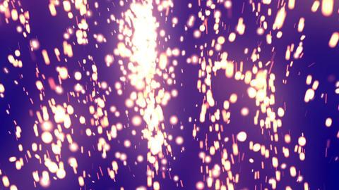 Glow Elegant Particles Purple Animation
