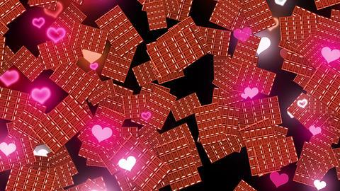 chocolate transition Animation