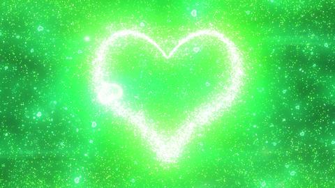 Heart sparkling galaxy gr Animation