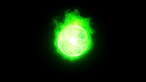 Form ball flare aura gr Animation