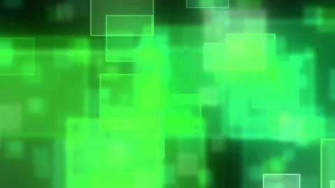 Hexa particle square loop flare gr Animation