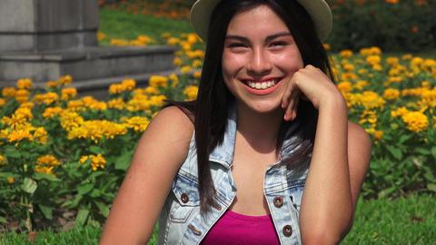 Happy Hispanic Person Footage
