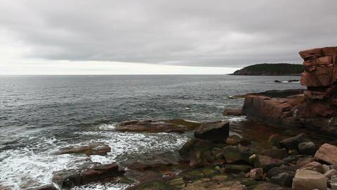 Acadia National Park. Maine Footage