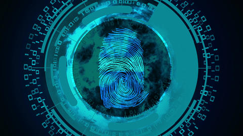 Fingerprint recognition Animation