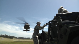 The 45th Field Artillery Brigade conducts annual training Footage