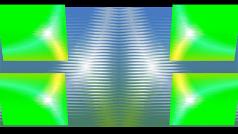 Abstract video background with rotating square shapes and color changing effect, Animation
