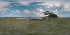 360 VR Mauritius Island coastline Footage