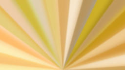Abstract yellow colored rotating fan-like rays Animation
