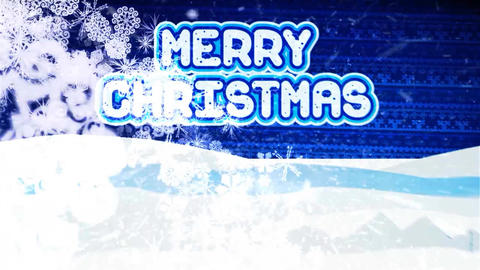 Merry Christmas Project After Effects Template
