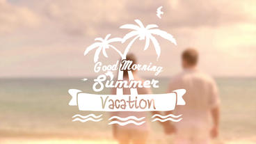 Summer Title - After Effects Template After Effects Template