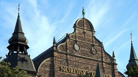Nordiska museet. Museum of Ethnography in Stockholm. Sweden 圖片