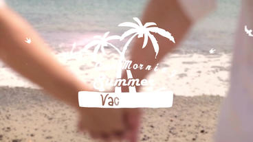 Summer Title - Apple Motion and Final Cut Pro X Template Apple Motion Template