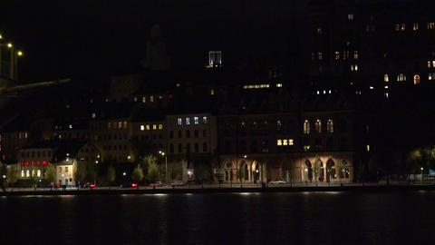 Stockholm. Old town. Architecture, old houses, streets and neighborhoods. 4K. Ni Footage