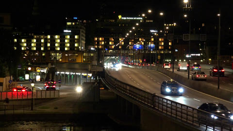 Stockholm. Old town. Architecture, old houses, streets and neighborhoods. 4K. Ni GIF