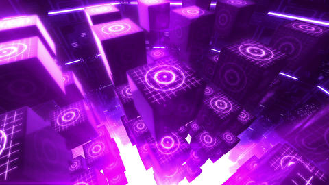 SHA Abstract BG Image Violet Animation