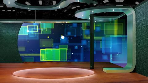 Education TV Studio Set 10- Virtual Background Loopp ライブ動画
