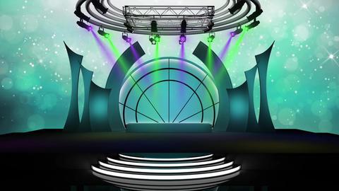Entertainment TV Studio Set 57-Virtual Background Loop ライブ動画