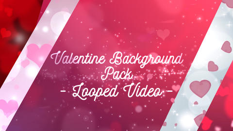 Valentine Background Pack After Effects Template