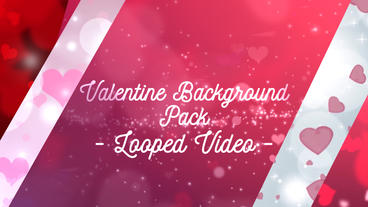 Valentine Background Pack After Effects Templates