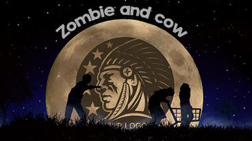 Zombie and cow Apple-Motion-Projekt