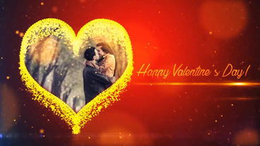 Happy Valentine Day Template After Effect