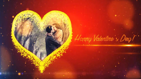 Happy Valentine Day After Effects Template