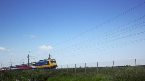 Intercity Direct train passing Live Action