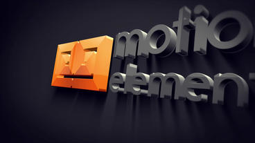 Logo 3D dusky After Effects Project