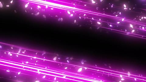 Oblique line sakura origin Animation