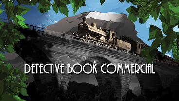 Detective Book Commercial After Effects Projekt