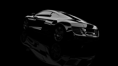 Audi R8 3D Render - 8 Angles CG動画素材