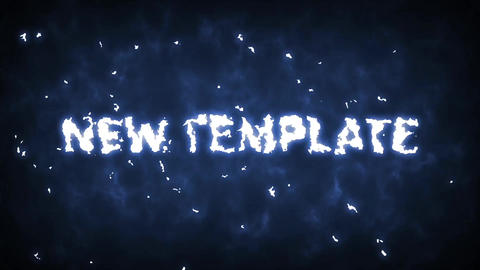 Plasma and fire trailer opener After Effects Template