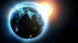Blue earth Animation