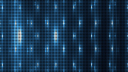 Vj Abstract Blue Bright Mosaic Animation