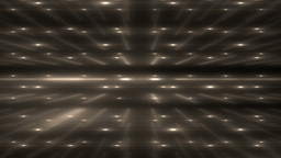 Gold Flood Lights Disco Music Background Animation