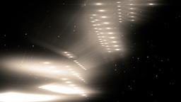 Gold Flood Lights Disco Music Background Animation