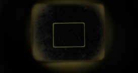 Retro Camera Viewfinder With Alpha Channel stock footage