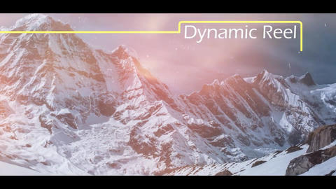 Dynamic Display Reel After Effects Template