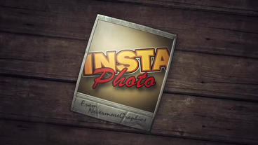 Insta-Photo - Polaroid Instant Photo Logo Stinger After Effects Project