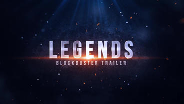 Legends Blockbuster Trailer After Effects Project