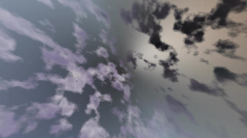 Sky abstract computer genereted Animation