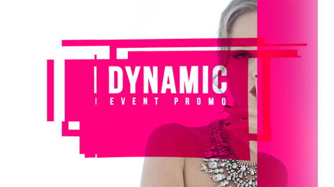 Dynamic Event Promo After Effectsテンプレート