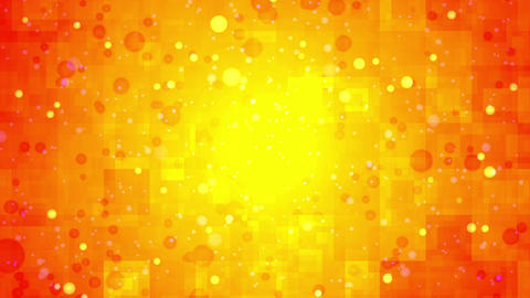Dot background material Radiation blinking Orange Animation