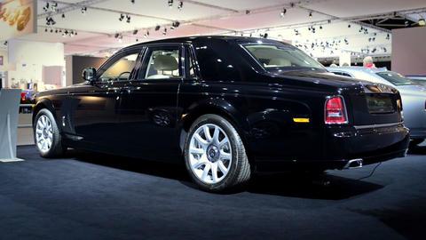Rolls Royce Phantom limousine Footage