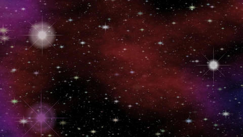 Fantasy meteorites in cosmos, sci-fi video with outer space theme, intro animati Animation