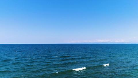 Sea of Japan and wave(60fps) Footage