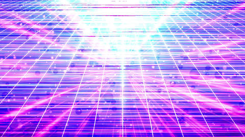 Radiation grid light flare dot